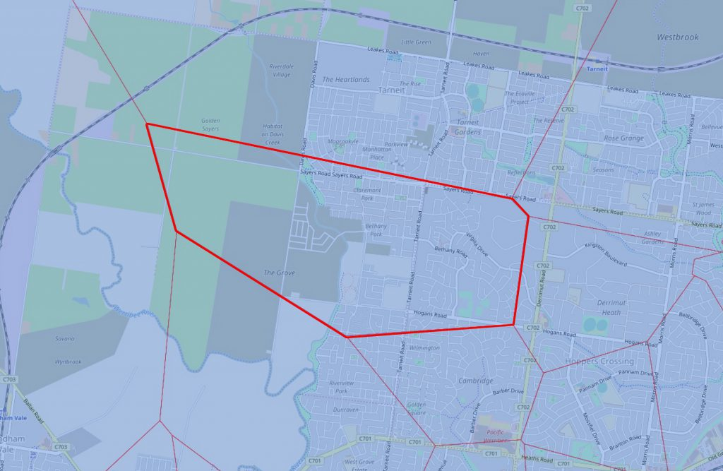 Callistemon Campus Catchment Area
