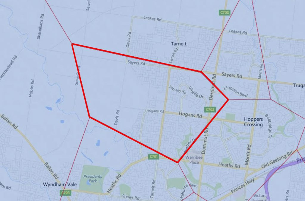Deloraine Campus Catchment Area